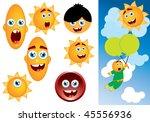 cartoon boy   Shutterstock .eps vector #45556936