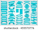 ribbons and tags collection set ... | Shutterstock .eps vector #455573776