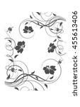 Abstract Floral Background. Ca...