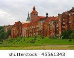 Grudziadz old town - stock photo