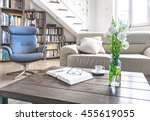 Living Room Wooden Table With...