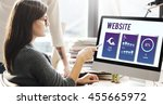 web site mobile interface...
