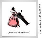 vector illustration of nail... | Shutterstock .eps vector #455672896