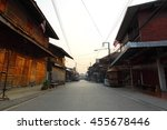 street of old town chiang khan... | Shutterstock . vector #455678446