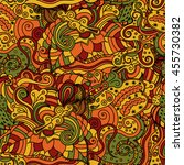 vector vivid seamless abstract... | Shutterstock .eps vector #455730382