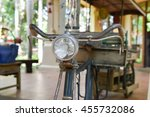 ancient bicycle | Shutterstock . vector #455732086