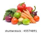 fresh vegetables   Shutterstock . vector #45574891