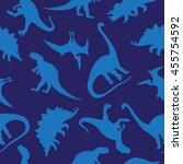seamless vector pattern of... | Shutterstock .eps vector #455754592