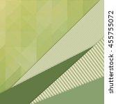 unusual modern material design... | Shutterstock .eps vector #455755072