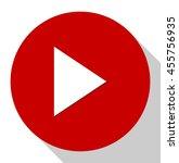 play button   | Shutterstock .eps vector #455756935