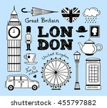 London Hand Drawn Icons And...