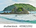 seaview   island at promthep... | Shutterstock . vector #455821552