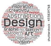 vector concept or conceptual... | Shutterstock .eps vector #455839768