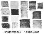 texture canvas line drawing... | Shutterstock .eps vector #455868835