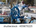 Cagliari  Wheel Of An Old...