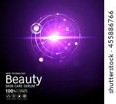 collagen beauty serum and...   Shutterstock .eps vector #455886766