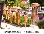 wind chimes music | Shutterstock . vector #455888488