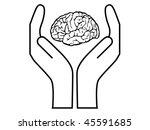 mental health vector | Shutterstock .eps vector #45591685