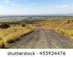 road to the top of masaya... | Shutterstock . vector #455924476