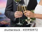wedding. | Shutterstock . vector #455950972