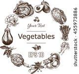 vector illustration sketch of   ... | Shutterstock .eps vector #455973886