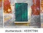 wooden old window | Shutterstock . vector #45597784
