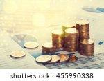 coin. | Shutterstock . vector #455990338