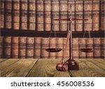 justice. | Shutterstock . vector #456008536