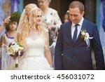 beautiful stylish elegant... | Shutterstock . vector #456031072