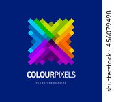modern colorful abstract vector ...   Shutterstock .eps vector #456079498