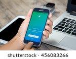 chiang mai thailand   july 21 ... | Shutterstock . vector #456083266