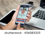 chiang mai thailand   july 21 ...   Shutterstock . vector #456083335