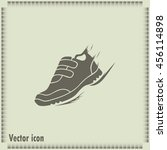 running shoe icon | Shutterstock .eps vector #456114898