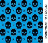 skull texture | Shutterstock .eps vector #456120232