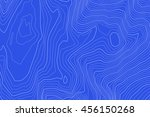 abstract vintage topography map.... | Shutterstock .eps vector #456150268
