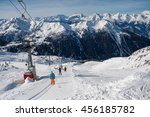 4 valley  switzerland  ... | Shutterstock . vector #456185782
