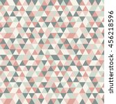 triangle vector pattern. mosaic ... | Shutterstock .eps vector #456218596