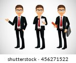 businessman | Shutterstock .eps vector #456271522