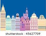 old city | Shutterstock .eps vector #45627709