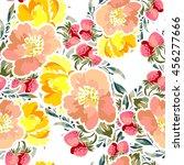 abstract elegance seamless... | Shutterstock .eps vector #456277666