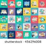 creative process conceptual... | Shutterstock .eps vector #456296008