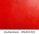solid red wall as background... | Shutterstock . vector #456321322