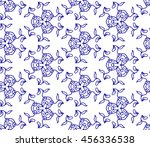 lace seamless pattern with... | Shutterstock .eps vector #456336538