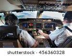 Cockpit  Flight Deck  Of Modern ...
