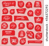 modern badges and labels... | Shutterstock .eps vector #456372292