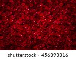 Stock photo background of beautiful red rose petals 456393316