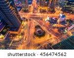 korea night traffic speeds... | Shutterstock . vector #456474562