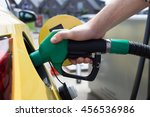 car refueling on petrol station.... | Shutterstock . vector #456536986
