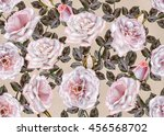 pattern  seamless. old style.... | Shutterstock . vector #456568702