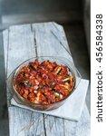 ratatouille   traditional... | Shutterstock . vector #456584338